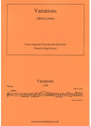 Variations Albert Lorenz