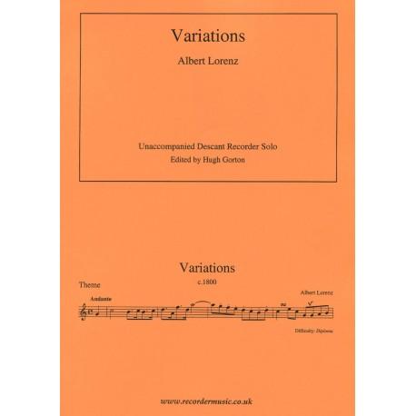 Variations Albert Lorenz