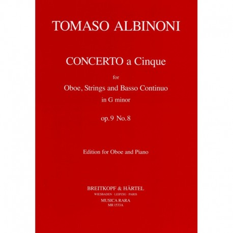 Concerto a 5 in g minor Op. 9, No. 8