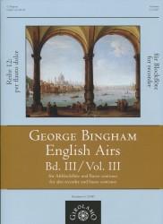 English Airs Volume III