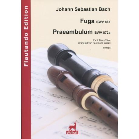 Fuga BWV867 & Praembulum BWV872a