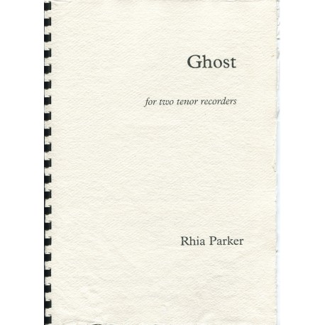 Ghost for two tenor recorders