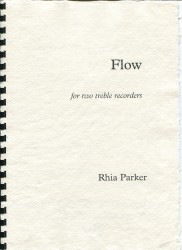 Flow for two treble recorders