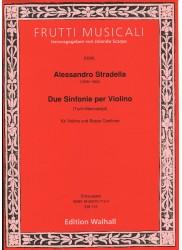 Due Sinfonie per Violino