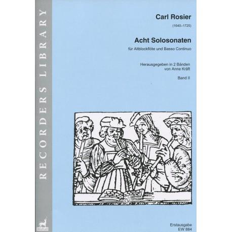 Eight Sonatas - Acht Solosonaten Volume II