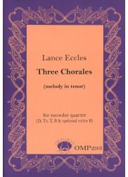Three Chorales (melody in tenor)