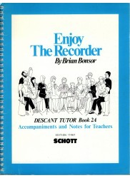 Enjoy The Recorder  Descant Tutor 2A  Accompaniments and Notes for Teachers
