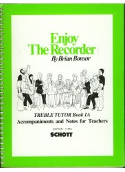 Enjoy The Recorder.  Treble Tutor 1A.  Accompaniments and Notes for Teachers