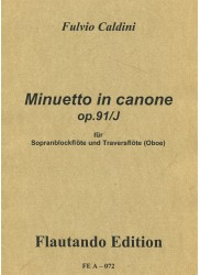 Minuetto in canone op.91/J