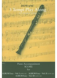 Piano Accompaniment Score for Easy Albums I, II & III