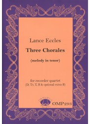 Three Chorales (melody in tenor)