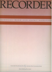 Recorder Technical Work and Users' Handbook