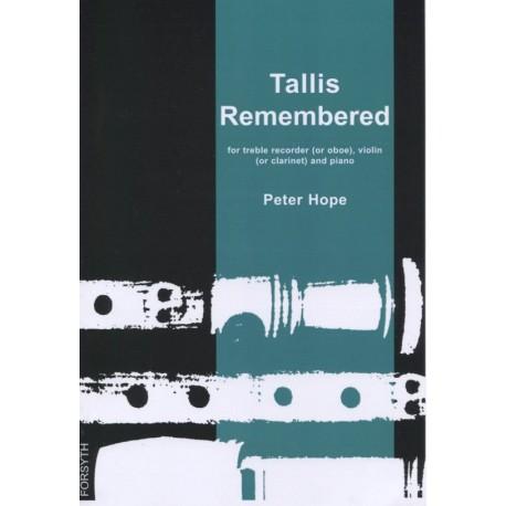 Tallis Remembered
