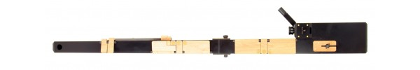 Contrabass Recorder in Resin - Black (AS)