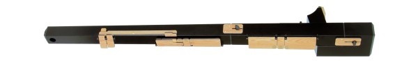 Direct Blow Contrabass Recorder in Resin - Black (AS)
