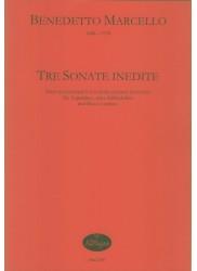 Tre Sonate Inedite