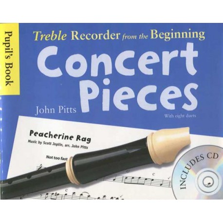 Treble Recorder from the Beginning - Concert Pieces (Pupil's Book)