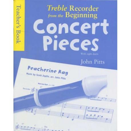 Treble Recorder from the Beginning - Concert Pieces (Teacher's Book)