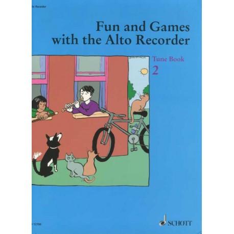 Fun and Games with the Alto Recorder - Tune Book 2