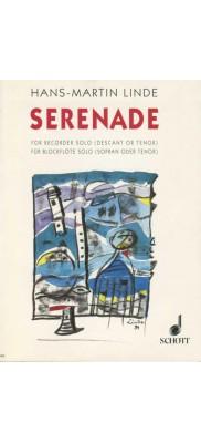 Serenade for Descant or Tenor Recorder