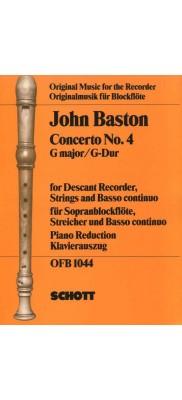 John Baston Concerto No. 4 in G major
