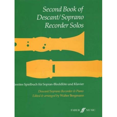 Second Book of Descant Recorder Solos