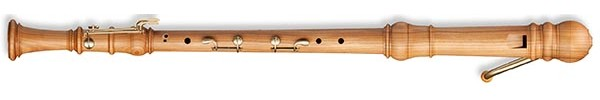 Denner Bass Recorder in Cherrywood
