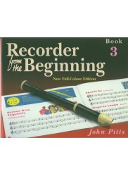 Recorder from the Beginning Book 3 New Edition + CD