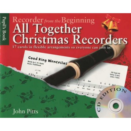 All Together Christmas Recorders with CD