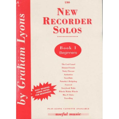 New Recorder Solos Book 1 - Beginners