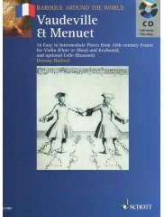 Vaudeville & Menuet (with CD)