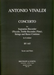 Concerto in a minor RV445