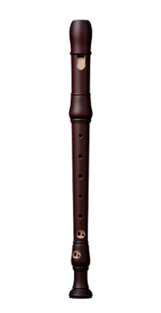 Studio Descant Recorder in Stained Pearwood