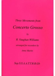 Three Movements from Concerto Grosso