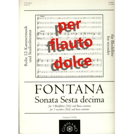 Sonata Sesta Decima