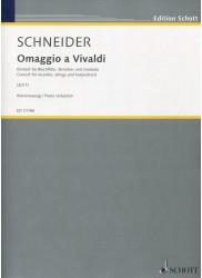 Omaggio a Vivaldi. Concerto for Recorder