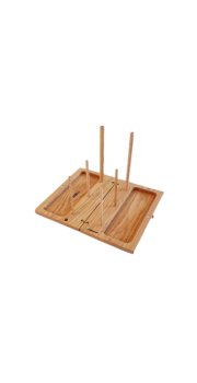 Handmade Box Recorder Stand - Oak