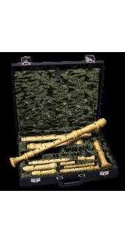 Sopranino/Descant/Treble/Tenor/Bass Recorder Hard Case