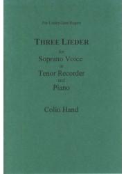 Three Lieder