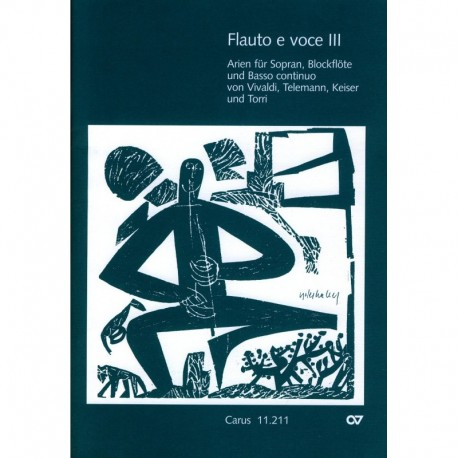 Flauto e voce, Vol III: Arias for Soprano, Recorder and Basso Continuo