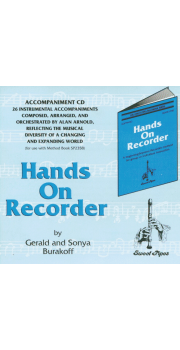 Hands on Recorder CD Sweet Pipes