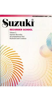 Recorder School Soprano Accompaniment Part Volume 2