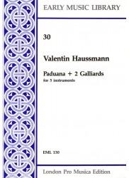 Paduana + 2 Galliards