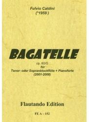 Bagatelle Op 60 G