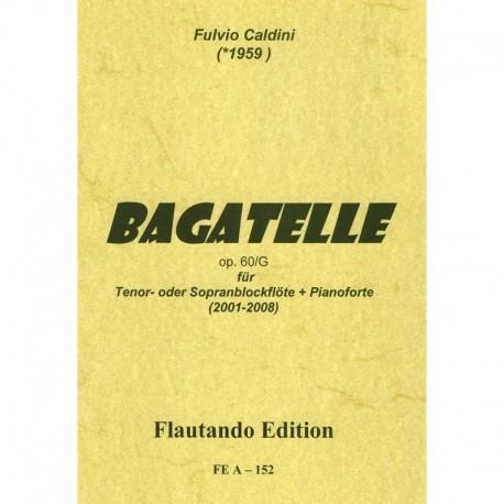 Bagatelle Op. 60 G