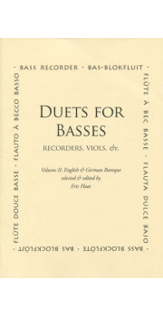 Duets for Basses Vol II: English and German Baroque
