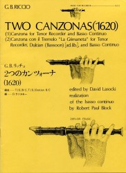 Two Canzonas (1620)