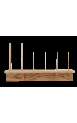 Recorder Vertical Wall Stand - Oak