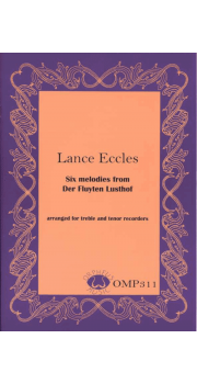 Six melodies from Der Fluyten Lusthof