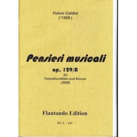 Pensieri musicali Op. No. 129/A